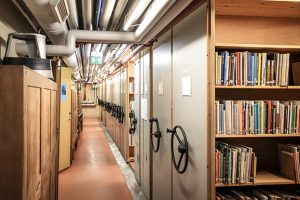 Centrifugal fans make the public library save again.
